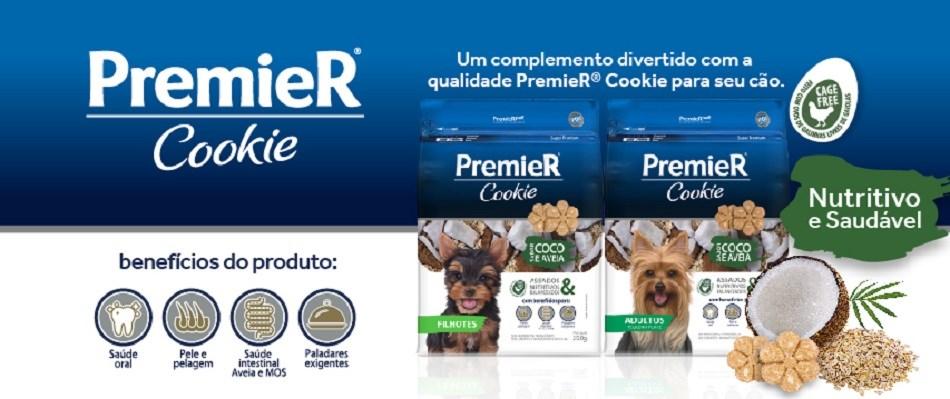 Lançamento Premier Pet Cookie