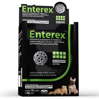 Adsorvente de Toxinas e Venenos Enterex Vetnil - 8 g