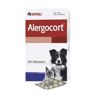 Alergovet 0.7mg C/10 Compr. para Cães e Gatos