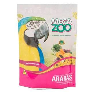 Alimento Mega Zoo Frutas e Legumes Para Araras