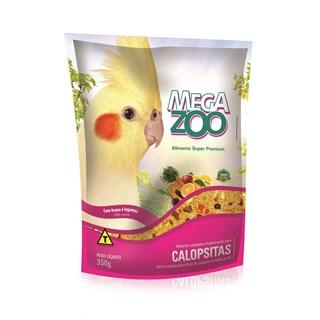 Alimento Mega Zoo Frutas e Legumes Para Calopsitas