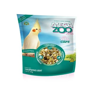 ALIMENTO MEGA ZOO MIX LIGHT PARA CALOPSITAS