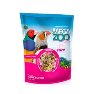 Alimento Mega Zoo Mix Para Aves Exóticas