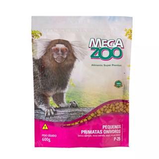 Alimento Mega Zoo P25 Para Pequenos Primatas Onívoros