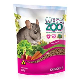 Alimento Mega Zoo Para Chinchilas - 500g