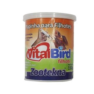 Alimento Zootekna Vital Bird Papa Para Pássaros Filhotes