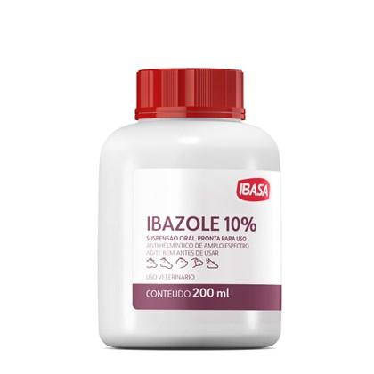 Anti-Helmíntico Ibasa Ibazole 10% Para Bovinos. Equinos. Ovinos. Suínos e Caprinos