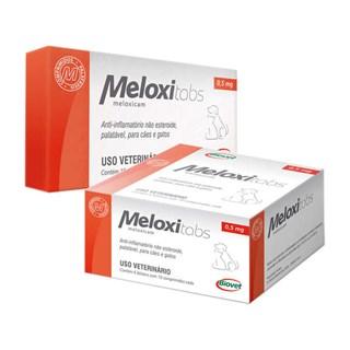 Anti-Inflamatório Biovet Meloxitabs Para Cães e Gatos - Cartela Com 10 Comprimidos