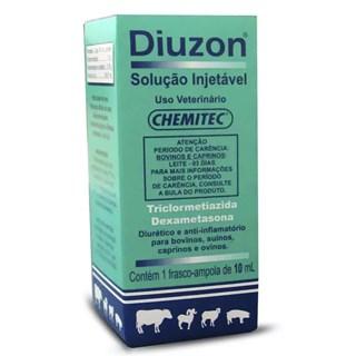 Anti-Inflamatório Chemitec Diuzon Injetável Para Ovinos. Caprinos. Suínos e Bovinos