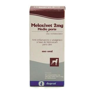 Anti-Inflamatório Duprat Meloxivet Médio Porte - 2mg