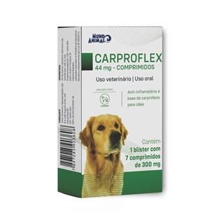 Anti-Inflamatório Mundo Animal Carproflex 44mg para Cães