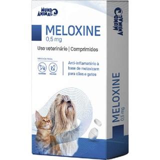 ANTI-INFLAMATóRIO MUNDO ANIMAL MELOXINE 0.5MG PARA CãES E GATOS