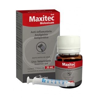 Anti-Inflamatório Oral Syntec Maxitec Meloxicam para Cães e Gatos