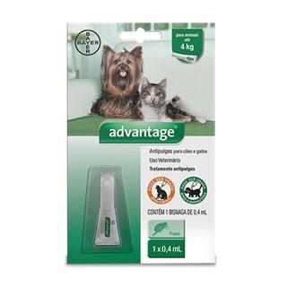 Anti Pulgas Bayer Advantage Para Cães e Gatos