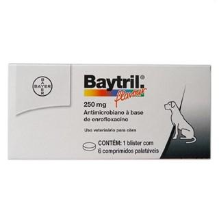 Antibacteriano Bayer Baytril Flavour Para Cães e Gatos