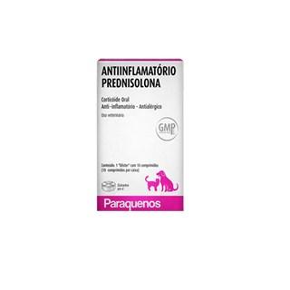 ANTIINFLAMATóRIO E ANTIALéRGICO PARAQUENOS PREDNISOLONA PARA CãES E GATOS