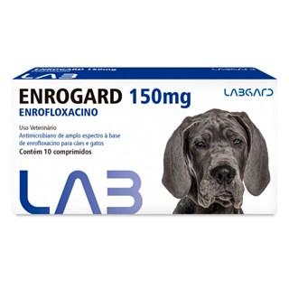 Antimicrobiano Labgard Enrogard 150mg para Cães