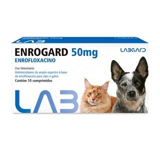 Antimicrobiano Labgard Enrogard 50mg para Cães e Gatos