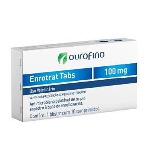 Antimicrobiano Ourofino Enrotrat Tabs - 100 mg