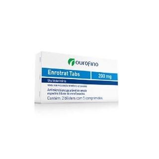 Antimicrobiano Ourofino Enrotrat Tabs  - 200 mg
