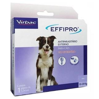 Antiparasitas Virbac Effipro Para Cães 10 a 20kg 1.34ml