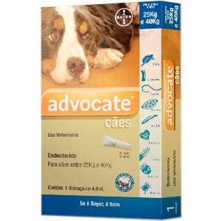 Antipulgas Bayer Advocate Para Cães Acima De 25kg