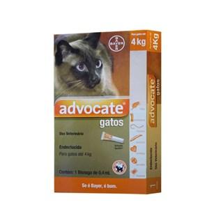 Antipulgas Bayer Advocate para Gatos até 4 Kg - 0.4 mL