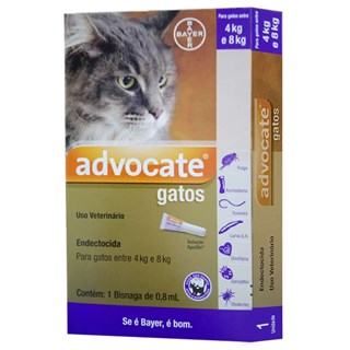 Antipulgas Bayer Advocate para Gatos de 4 a 8 Kg - 0.8 mL