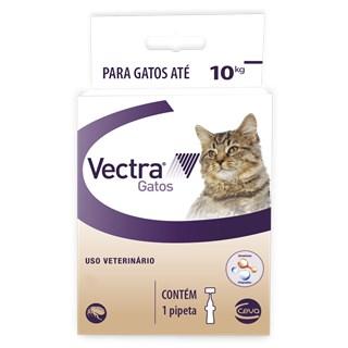 Antipulgas Ceva Vectra Para Gatos De Até 10kg
