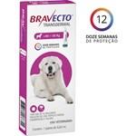 Antipulgas e Carrapatos Bravecto Transdermal Para Cães De 40 a 56kg