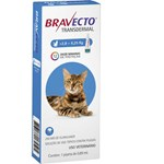 Antipulgas e Carrapatos Bravecto Transdermal Para Gatos De 2.8 a 6.25kg