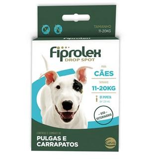 Antipulgas e Carrapatos Ceva Fiprolex Drop Spot de 1.34 mL para Cães de 11 a 20 Kg