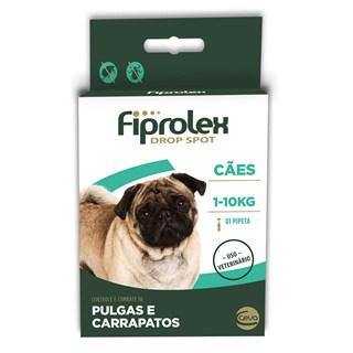 Antipulgas e Carrapatos Ceva Fiprolex Drop Spot Para Cães Até 10kg