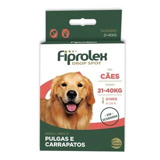 Antipulgas e Carrapatos Ceva Fiprolex Drop Spot Para Cães De 21 a 40kg