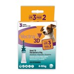 Antipulgas e Carrapatos Ceva Vectra 3d Leve 3 Pague 2 Para Cães De 4 a 10kg