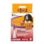 Antipulgas e Carrapatos Ceva Vectra 3d Leve 3 Pague 2 Para Cães De 40 a 67kg