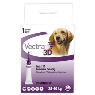 Antipulgas e Carrapatos Ceva Vectra 3d Para Cães De 25 a 40kg