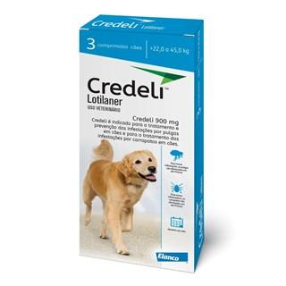 Antipulgas e Carrapatos Elanco Credeli 900 mg para Cães
