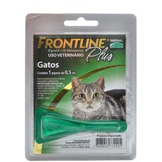 Antipulgas e Carrapatos Frontline Plus para Gatos
