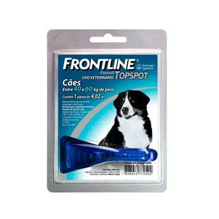 Antipulgas e Carrapatos Frontline Top Spot 4.02ml para Cães de 40kg à 60kg