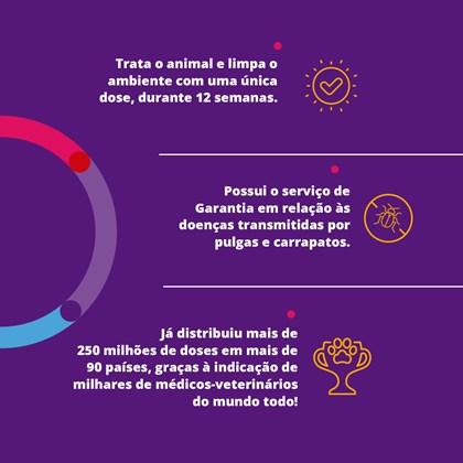 Antipulgas e Carrapatos MSD Bravecto para Cães de 2 a 4.5 Kg