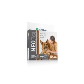 Antipulgas e Carrapatos Ourofino Neopet 2.68ml para Cães de 20.1kg à 40kg