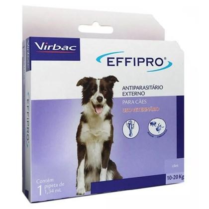 Antipulgas e Carrapatos Virbac Effipro 1.34 mL Cães de 10 até 20 Kg