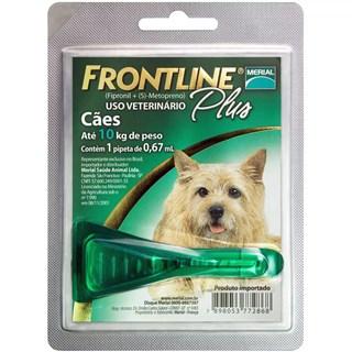 Antipulgas Merial Frontline Plus Para Cães Até 10kg