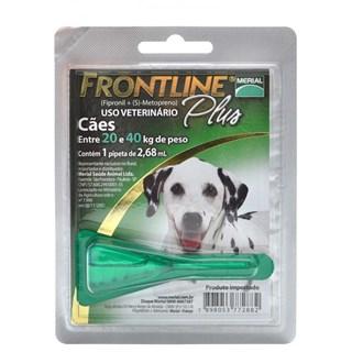 Antipulgas Merial Frontline Plus Para Cães De 20 a 40kg