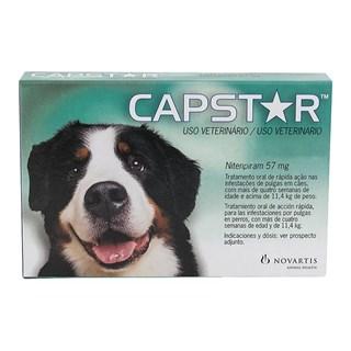 Antipulgas Novartis Capstar 57 mg para Cães acima de 11.4 Kg