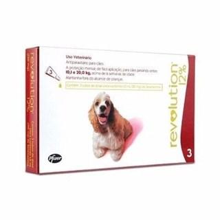 Antipulgas Zoetis Revolution Para Cães 10.1 Até 20kg
