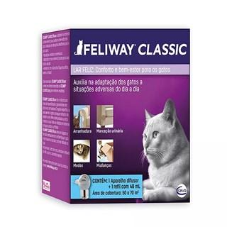Aparelho Difusor Ceva Feliway Classic Para Gatos