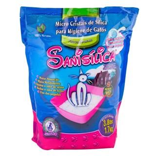 Areia Sanitária American Pets Micro Sanisílica Para Gatos