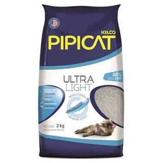 Areia Sanitária Kelco Pipicat Ultra Light para Gatos